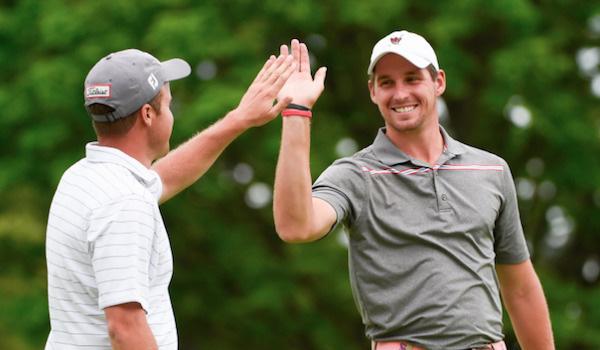 Tiếng hét của khán giả khiến tay golf trẻ tuột mất chức vô địch, phản ứng của anh ấy sau đó là một bài học về trí tuệ cảm xúc - Ảnh 3.