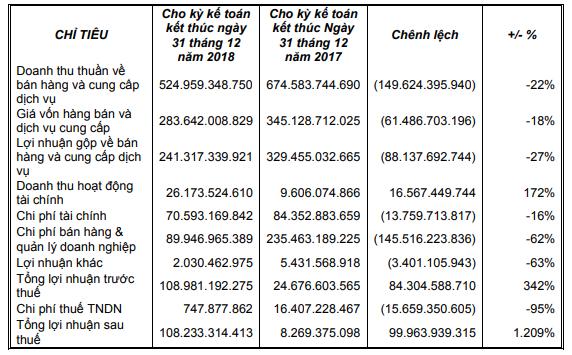 Tân Tạo (ITA): Doanh thu giảm mạnh, quý 4 lại lỗ hơn 20 tỷ đồng  - Ảnh 2.