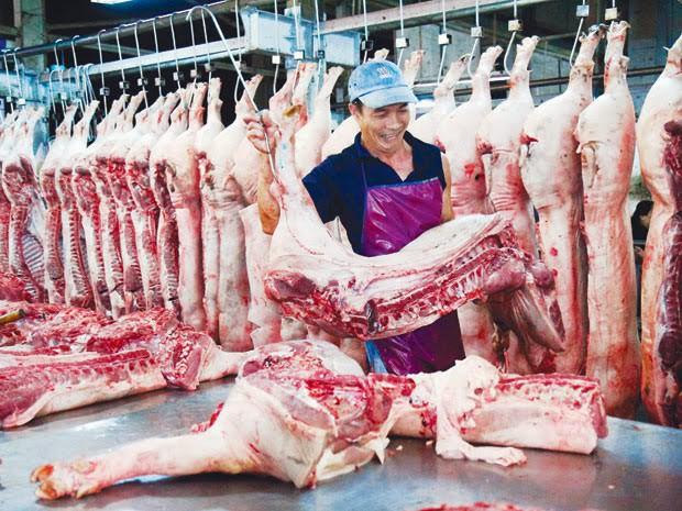 Dịch bệnh nổ sát Tết, thịt lợn hơi tăng giá mạnh nhất - Ảnh 1.