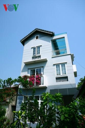 Nhà 3 tầng xinh xắn giữa ngôi làng cổ ở Hà Nội - Ảnh 16.