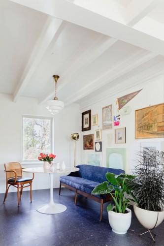 Nội thất dành cho chủ nhà yêu thích sự sắc nét và trật tự - Ảnh 4.