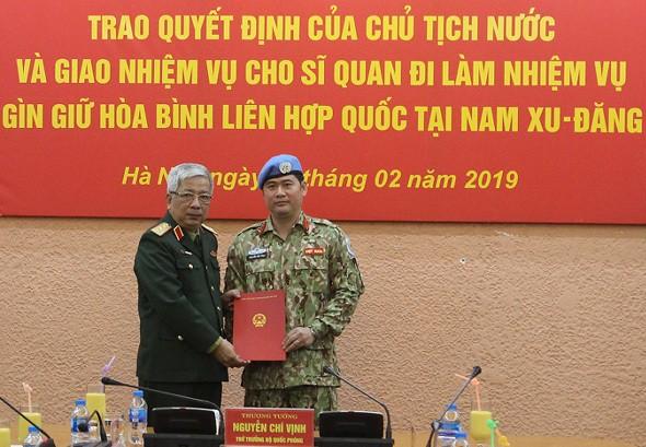 Công bố quyết định của Chủ tịch nước về công tác cán bộ - Ảnh 1.