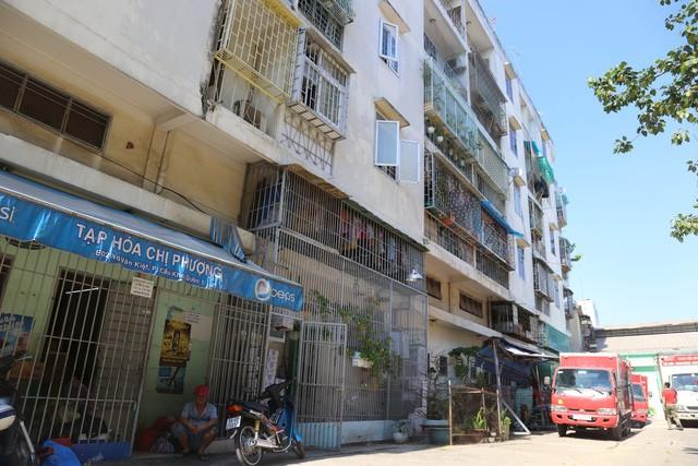 Tp.HCM quyết định tháo dỡ chung cư Võ Văn Kiệt, Q.1