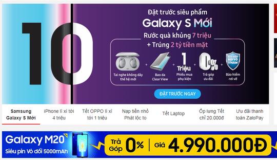 Sau Tết, smartphone đua giảm giá sốc xả hàng - Ảnh 3.