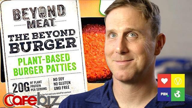 Thịt chay từ rau củ có mùi vị, dưỡng chất, rỉ máu y như thịt thật, Beyond Meat được cả Bill Gates và McDonald's đầu tư, tham vọng thay thế thịt toàn cầu - Ảnh 2.