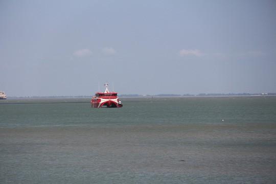 Tàu cao tốc Côn Đảo Express 36 khắc phục xong sự cố, hoạt động lại bình thường  - Ảnh 2.