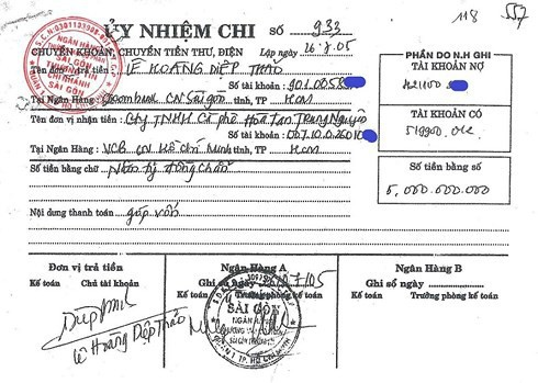 """Mẹ chồng khẳng định """"Cô góp sức nhưng tiền bạc thì không"""", bà Lê Hoàng Diệp Thảo tung chứng cứ còn giữ từ 2005 để phản bác - Ảnh 3."""