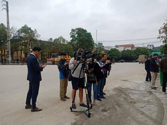 An ninh thắt chặt, phóng viên quốc tế có mặt tại Ga Đồng Đăng trước Thượng đỉnh Mỹ-Triều - Ảnh 17.