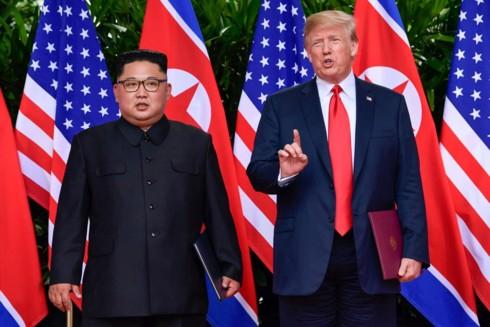Trước thềm Thượng đỉnh Mỹ-Triều 2: Chờ đợi tuyên bố hòa bình - Ảnh 1.