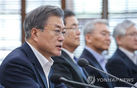 Tổng thống Hàn Quốc lên tiếng về Hội nghị Thượng đỉnh Mỹ-Triều  - Ảnh 1.