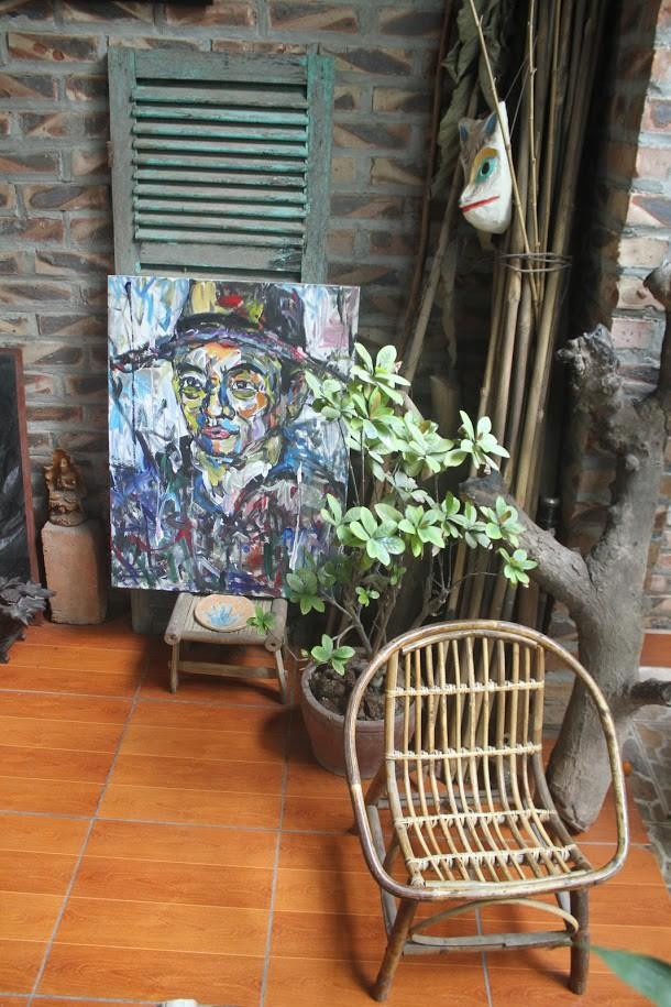 Thiết kế đặc biệt của quán cà phê Hà Nội ngập tràn tranh chân dung ông Donald Trump và ông Kim Jong Un - Ảnh 12.