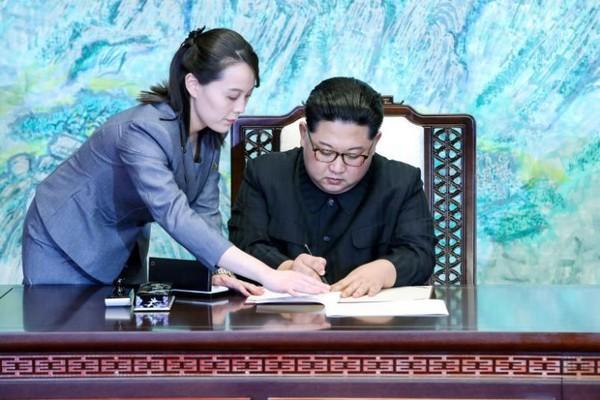 Danh tính em gái ông Kim Jong-un - người cẩn thận thị sát sân ga Đồng Đăng trước khi anh trai xuống tàu - Ảnh 4.