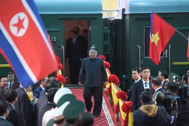 [ẢNH] Toàn cảnh buổi tiếp đón nhà lãnh đạo Triều Tiên Kim Jong Un tại ga Đồng Đăng - Ảnh 7.