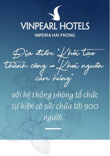 """Vinpearl Hotel Imperia Hải Phòng - Trải nghiệm thượng lưu tại """"ngọn hải đăng"""" mới của thành phố Cảng - Ảnh 11."""