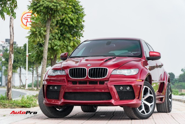 Lột xác từ trong ra ngoài, BMW X6 2008 vẫn chỉ có giá hơn 700 triệu đồng - Ảnh 1.