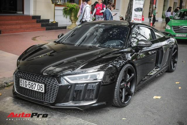 Cường Đô La đổi màu Audi R8 V10 Plus, tuy nhiên đây mới là điểm đáng chú ý - Ảnh 2.