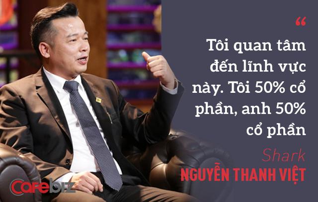 CEO khởi nghiệp tuổi 50 và lời hứa đầu tư 1 triệu USD của Shark Việt: Nhận tiền của cá mập quả không dễ! - Ảnh 1.