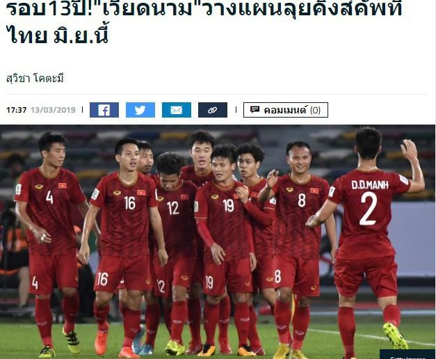 Báo Thái Lan hồ hởi, tán dương ĐT Việt Nam sau khi nhận lời tham dự King's Cup - Ảnh 2.