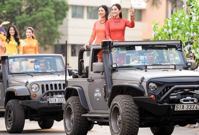 Dàn xe khủng của ông chủ cafe Trung Nguyên chở theo Hoa hậu và Á hậu, sẵn sàng hành trình xuyên Việt 2019 - Ảnh 19.