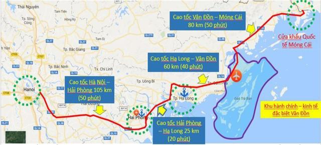 Dự kiến bắt đầu làm xây dựng xa lộ hơn 11.000 tỷ đồng Vân Đồn - Móng Cái vào 30/3 - Ảnh 1.