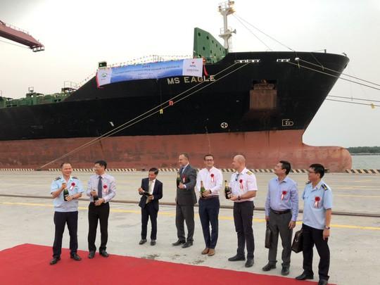 TP HCM đón tàu hàng lớn nhất từ trước đến nay - Ảnh 2.