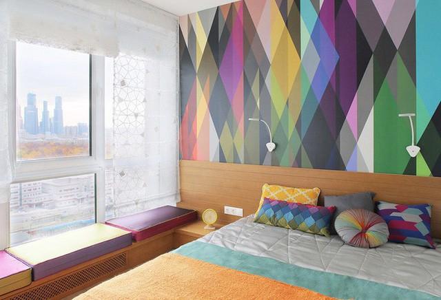 Cách sử dụng màu sắc giúp căn hộ vỏn vẹn 25m² này đẹp đến bất ngờ - Ảnh 11.
