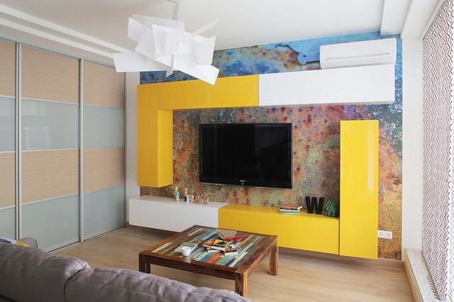 Cách sử dụng màu sắc giúp căn hộ vỏn vẹn 25m² này đẹp đến bất ngờ - Ảnh 7.