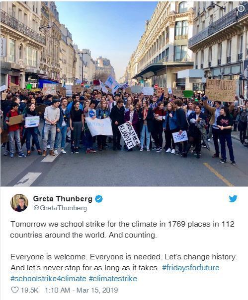 Cô gái 16 tuổi vận động mọi người bỏ học để biểu tình chống biến đổi khí hậu được đề cử giải Nobel hòa bình - Ảnh 1.