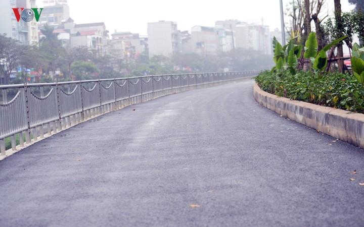 Ngắm con đường đi bộ dài nhất Thủ đô đang dần hoàn thiện - Ảnh 10.