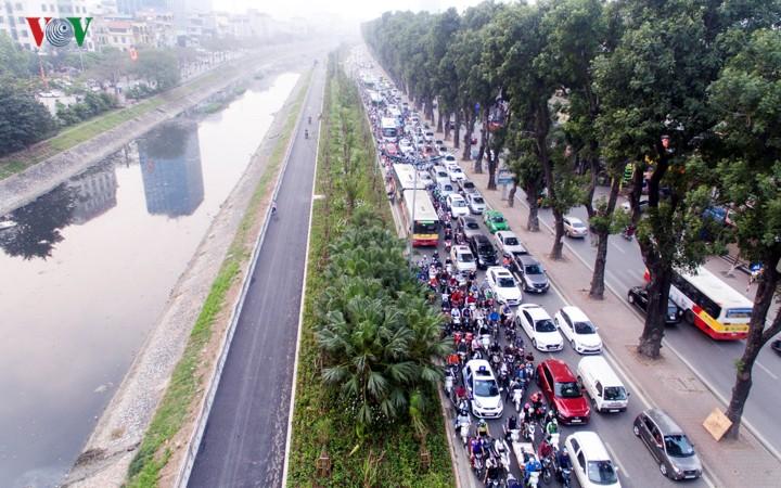 Ngắm con đường đi bộ dài nhất Thủ đô đang dần hoàn thiện - Ảnh 11.