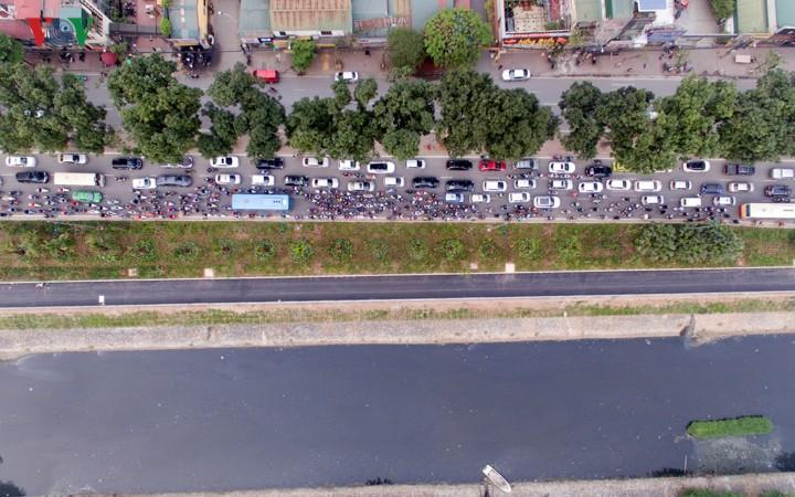 Ngắm con đường đi bộ dài nhất Thủ đô đang dần hoàn thiện - Ảnh 2.