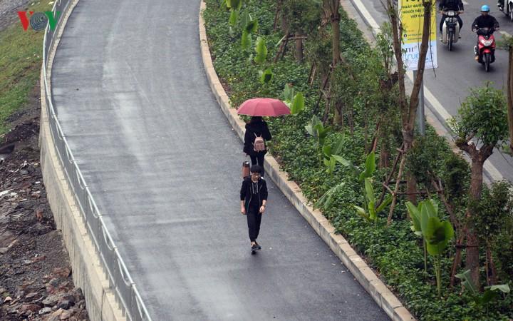 Ngắm con đường đi bộ dài nhất Thủ đô đang dần hoàn thiện - Ảnh 4.