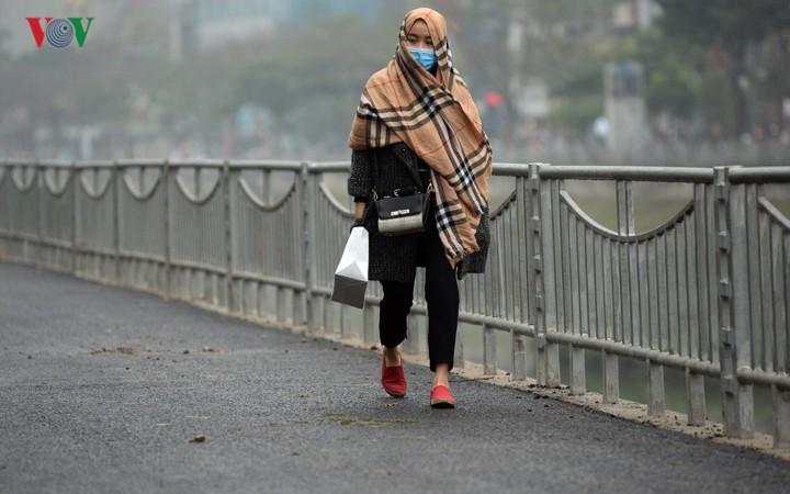 Ngắm con đường đi bộ dài nhất Thủ đô đang dần hoàn thiện - Ảnh 9.