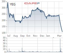 Bất chấp nhiều thông tin hỗ trợ liên tiếp được tung ra, cổ phiếu Yeah1 vẫn giảm sàn 12 phiên liên tiếp - Ảnh 1.