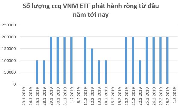 Hàng trăm tỷ đồng tiếp tục đổ vào chứng khoán Việt Nam trong tuần cuối tháng 2 thông qua các quỹ ETF - Ảnh 1.