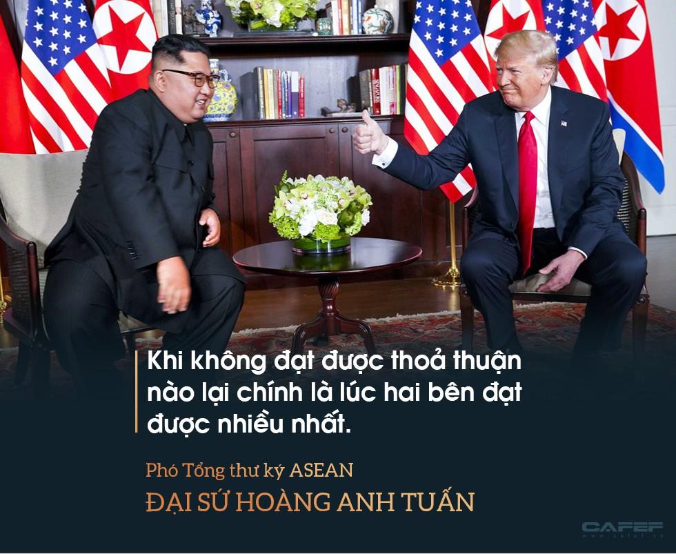 Hy vọng về một nền hòa bình bền vững nhìn từ nụ cười của Chủ tịch Kim lúc chia tay - Ảnh 8.