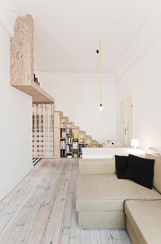 Nhà nhỏ bỗng rộng thênh thang nhờ kiến trúc thông minh - Ảnh 6.
