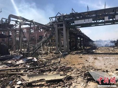 Chính phủ Trung Quốc thành lập Tổ điều tra vụ nổ nhà máy hóa chất - Ảnh 2.