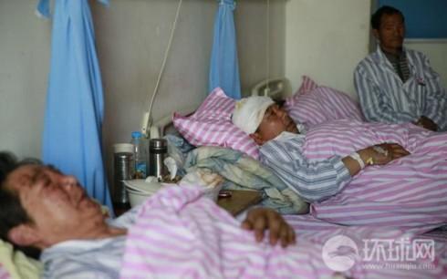 Vụ nổ nhà máy Trung Quốc: Nhiều người đang trong tình trạng nguy kịch - Ảnh 1.