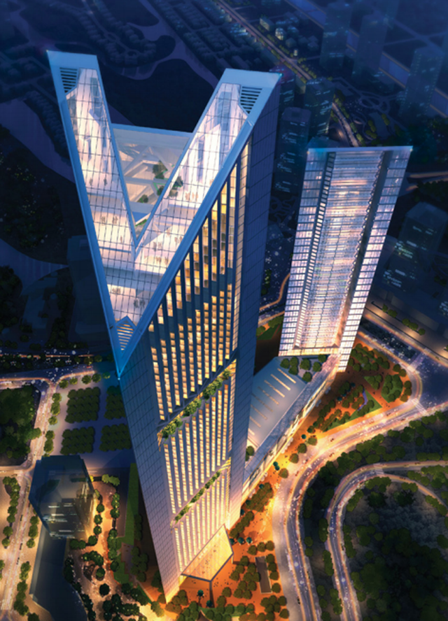 Loạt tòa tháp chọc trời dồn dập đổ bộ, biến nơi đây thành trung tâm tài chính - thương mại mới của Hà Nội - Ảnh 1.