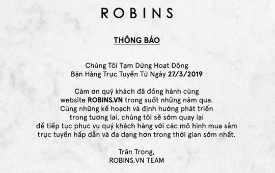 Vì sao đại gia Thái Lan đóng cửa sàn thương mại điện tử Robins.vn? - Ảnh 1.