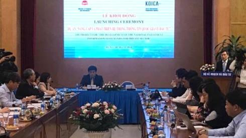 Hàn Quốc viện trợ 5,5 triệu USD xây dựng dữ liệu đầu tư cho Việt Nam - Ảnh 1.