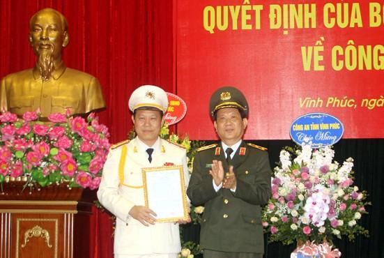 Công bố quyết định bổ nhiệm Giám đốc Công an 3 tỉnh, thành - Ảnh 1.