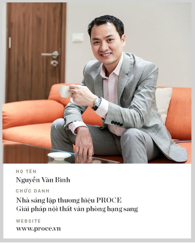 Doanh nhân Nguyễn Văn Bình - Người tiên phong mang nội thất văn phòng hạng sang về Việt Nam - Ảnh 2.