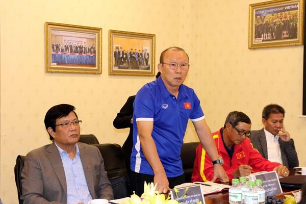 HLV Park Hang-seo hứa đem về huy chương vàng SEA Games nếu được VFF đáp ứng điều kiện này - Ảnh 1.