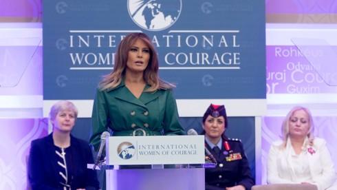 Thông điệp Đệ nhất phu nhân Mỹ gửi tới phụ nữ trên thế giới - Ảnh 1.