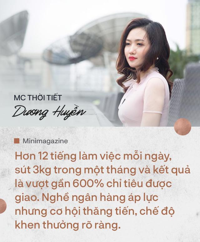 """Nữ MC thời tiết xinh đẹp và chuyện """"dấn thân"""" vào ngân hàng: Ngày làm việc hơn 12 tiếng, sút 3kg một tháng để đổi lại thành quả vượt chỉ tiêu gần 600% - Ảnh 6."""