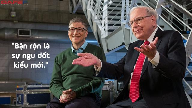 Bận rộn cả ngày chỉ chứng tỏ năng lực bạn yếu kém: Như Bill Gates và Warren Buffet, Có ngày tôi chỉ ngồi không - Ảnh 1.