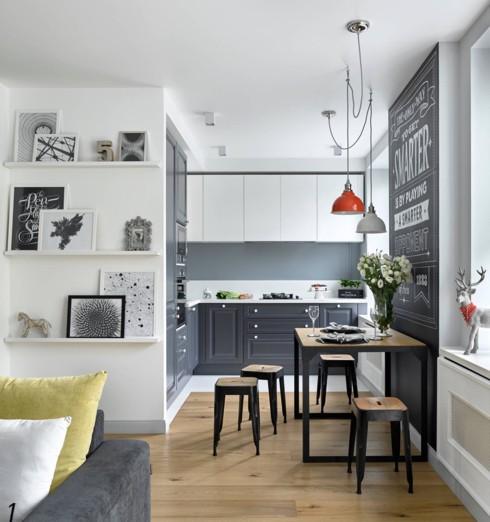 Mẫu tủ bếp đẹp cho căn hộ chung cư - Ảnh 6.