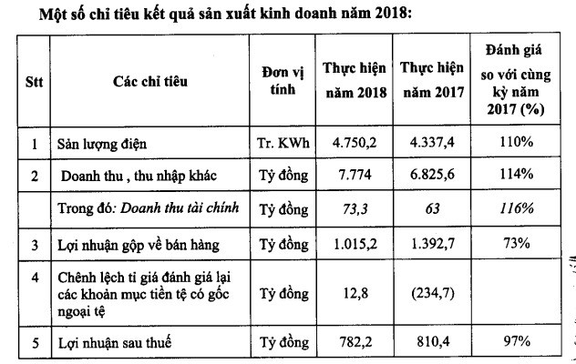 Điện lực Dầu khí Nhơn Trạch 2 (NT2): Mục tiêu lãi trước thuế 782 tỷ đồng năm 2019, giảm 5% so với cùng kỳ - Ảnh 1.